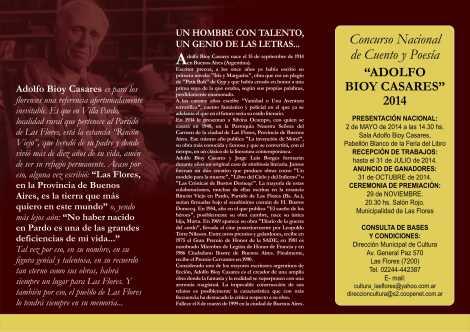 FOLLETO CASARES INTERIOR 2014 (1)
